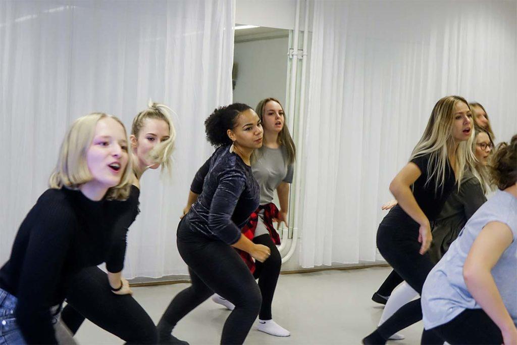 Tanzproben Stage Musical Academy