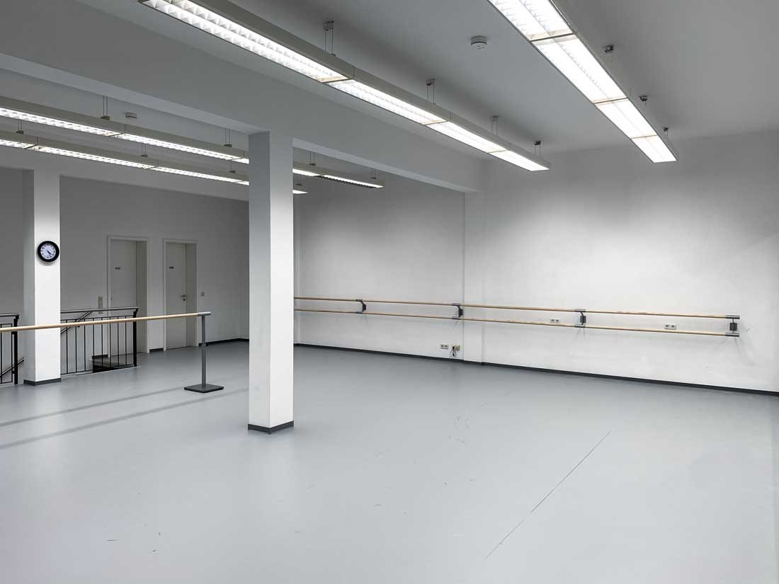 Helle Räume bei der Stage Musical Academy